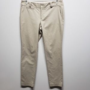 3/$25 Banana Republic Tan Khaki Pants Martin Fit
